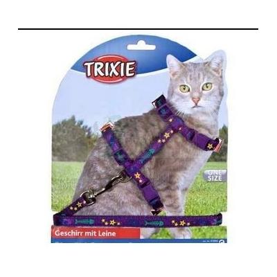Trixie Szelki dla dużego kota 22/36cm ze smyczą 1.20m