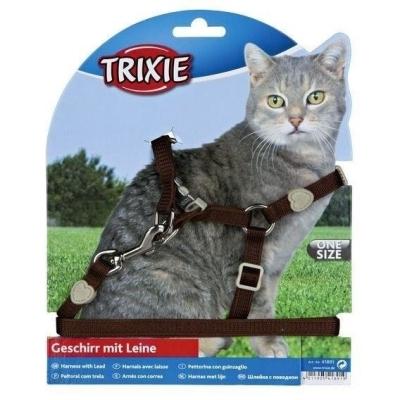 Trixie Szelki dla Kota Premium 26-37 cm/10mm 1,2M