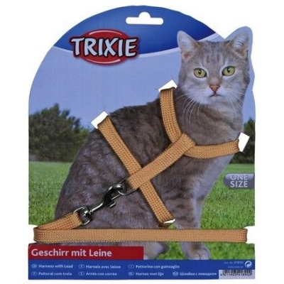 Trixie Szelki dla kota nylon 22–42cm / 10 mm