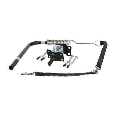 Trixie  Smycz Do Roweru - zestaw dla psa