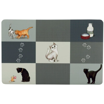 Trixie Podkładka pod miskę PATCHWORK dla kota