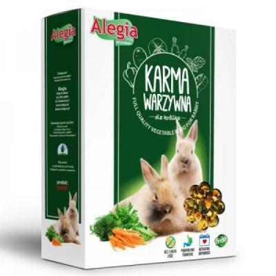Karma sucha dla Królika Alegia Pokarm Warzywny  650g