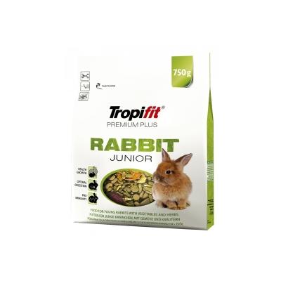 Karma sucha dla Królika Tropifit Rabbit Junior Premium Plus 750g