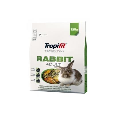 Karma sucha dla Królika Tropifit Rabbit Adult Premium Plus 750g , 2.5 kg