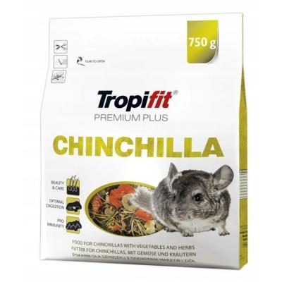Karma sucha dla Szynszyla TROPIFIT Premium Plus Chinchilla  750g