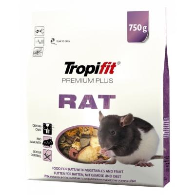 Karma sucha dla Szczur TROPIFIT Premium Plus Rat 750g