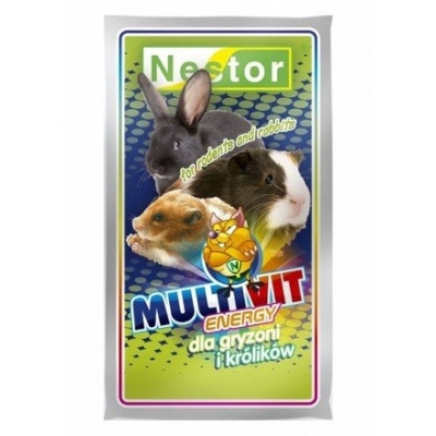 Nestor Multivit odżywka dla gryzoni 20g