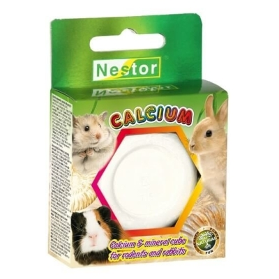 Nestor kostka wapienno-mineralna dla gryzoni i królików