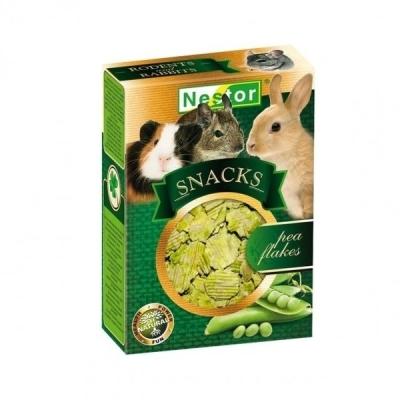 Nestor Snacks Płatki grochu 55g dla gryzoni i królików