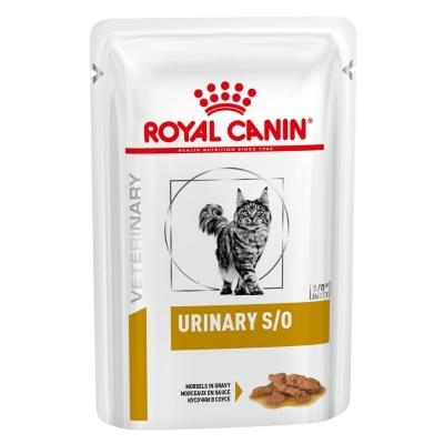 Karma mokra dla kota  Royal Canin Veterinary Diet Feline Urinary S/O kurczak sos saszetka 85g