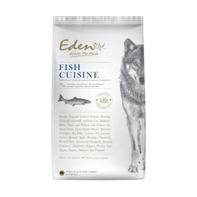 Karma sucha dla psa  Eden Fish Cuisine - Rasy Średnie i Duże 2kg
