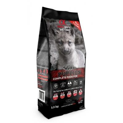 Karma sucha dla psa Alpha Spirit miękka PUPPIES 1,5kg