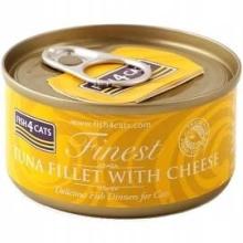 Karma mokra dla kota Fish4Cats Filety różne smaki - 1x70g Tuńczyka z serem