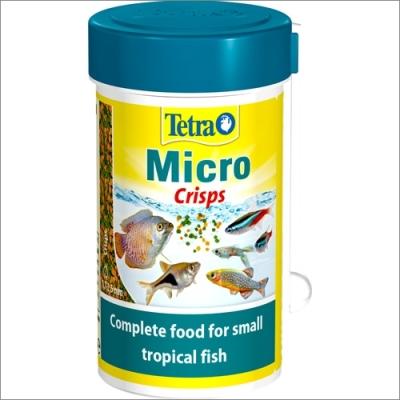 Tetra pokarm dla ryb akwariowych  TETRA Micro Crisps – pokarm dla małych ryb ozdobnych 100ml