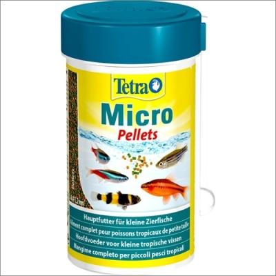 Tetra pokarm dla ryb akwariowych  TETRA Micro Pellets – pokarm dla małych ryb ozdobnych 100ml