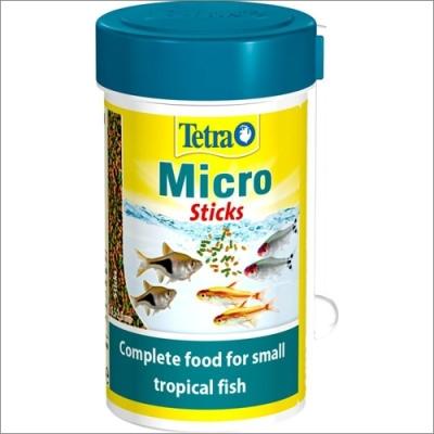 Tetra pokarm dla ryb akwariowych  TETRA Micro Stics – pokarm dla małych ryb ozdobnych 100ml