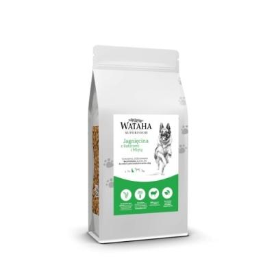 Karma sucha dla psa  Wataha Superfood jagnięcina z batatami i miętą 2kg, 6kg, 12kg GFF