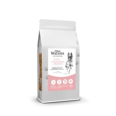 Karma sucha dla psa  Wataha Superfood łosoś, plamiak i błękitek z batatami 2kg, 6kg, 12kg GPU Karma sucha dla szczeniąt ras małych i średnich