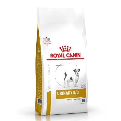 Karma sucha dla psa Royal Canin Diet Urinary S/O Small Dog 1,5 kg, 4 kg, 8 kg Usd 20