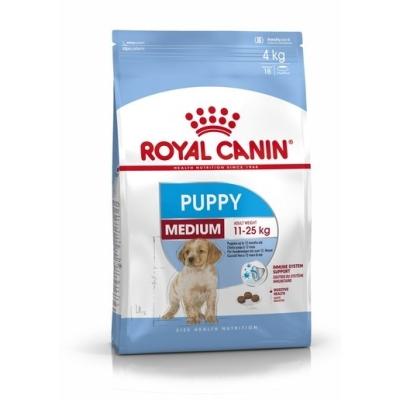 Karma sucha dla psa Royal Canin Size Medium Puppy 4kg, 15kg