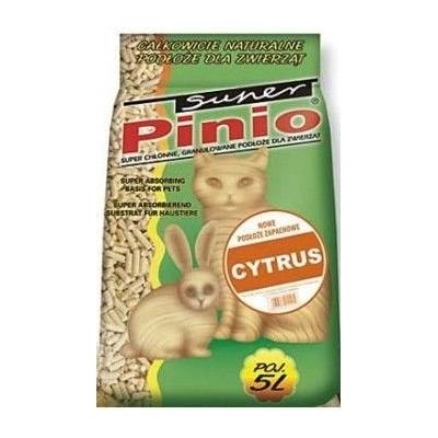 Żwirek dla kota i gryzoni Benek Super Pinio Cytrus 5L, 10L, 35L