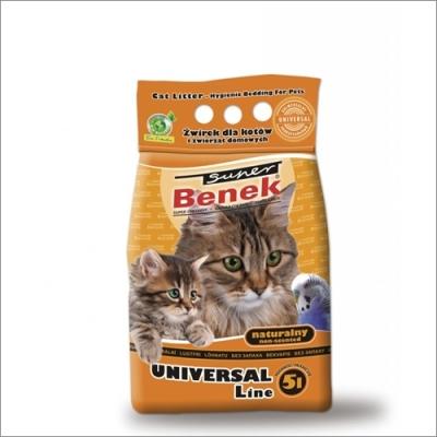 Żwirek dla kota i gryzoni Benek  Uniwersalny 5 L, 10 L, 25 L