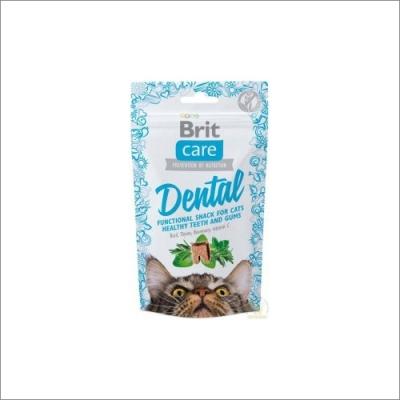 Przysmaki dla kota Brit Care Cat Snack Dental 50g