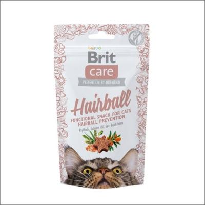 Przysmaki dla kota Brit Care Cat Snack Hairball 50g