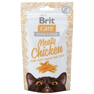 Przysmaki dla kota Brit Care Cat Snack Meaty Chicken 50g