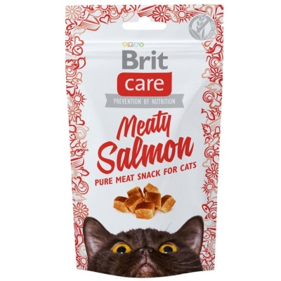 Przysmaki dla kota Brit Care Cat Snack Meaty Salomon 50g