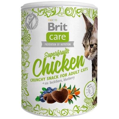 Przysmaki dla kota Brit Care Cat Snack Superfruits Chicken 100g