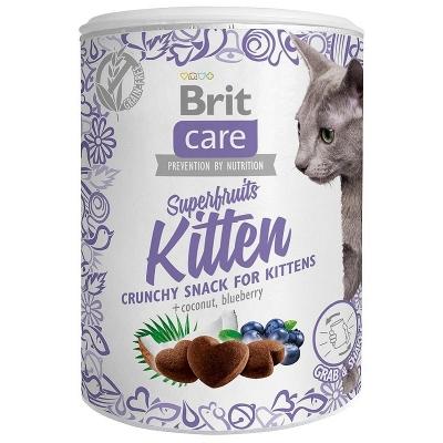 Przysmaki dla kota Brit Care Cat Snack Superfruits Kitten 100g