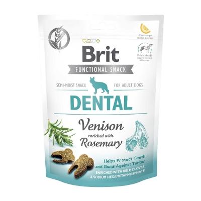 Przysmak dla psów Brit Care Dog Functional Snack Dental Venision 150g