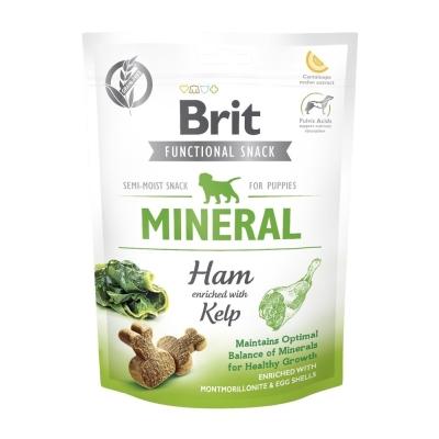 Przysmak dla psów Brit Care Dog Functional Snack Mineral Ham Puppy 150g