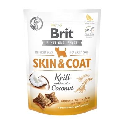 Przysmak dla psów Brit Care Dog Functional Snack Skin&Coat 150g