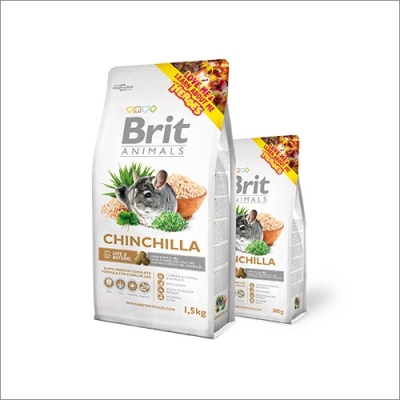 Karma sucha dla Szynszyla Brit Animals Chinchilla Complete 300g, 1,5kg