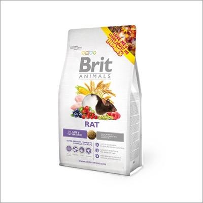 Karma sucha dla Szyczura Brit Animals Rat Complete 300g, 1,5kg