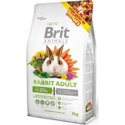 Karma sucha dla Królika Brit Animals Rabbit Adult Complete 300g, 1,5kg, 3kg