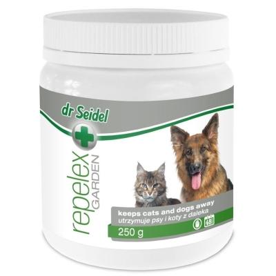 DERMAPHARM Dr Seidel REPELEX Ogród Utrzymuje psy i koty z daleka 250g, 1kg