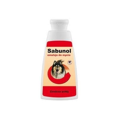 DERMAPHARM Sabunol emulsja do mycia przeciw pchłom dla psów 150ml