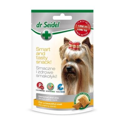 DermaPharm Dr Seidel Smakołyki dla psa na piękną sierść 90g