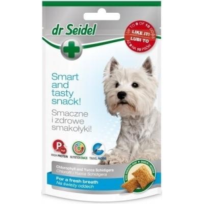 DermaPharm Dr Seidel Smakołyki na świeży oddech dla psa 90g