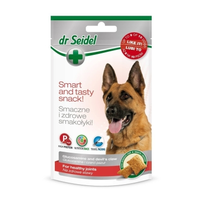 DermaPharm Dr Seidel Smakołyki  na zdrowe stawy dla psów 90g