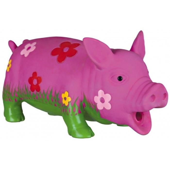 Trixie zabawka Świnka lateksowa  naturalny głos dla psa