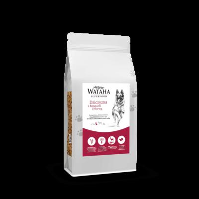 Karma sucha dla psa  Wataha Superfood dziczyzna z batatami i morwą 2kg, 6kg, 12kg VGF