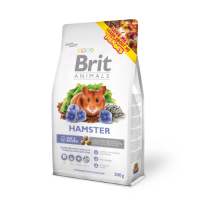 Karma sucha dla Chomika Brit Animals Hamster Complete 100g, 300g
