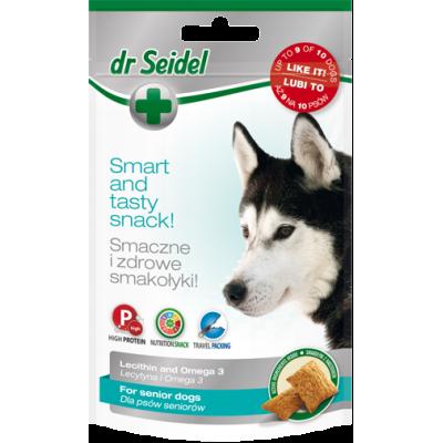 DermaPharm Dr Seidel smakołyki dla psów seniorów zwiekrzające witalność 90g