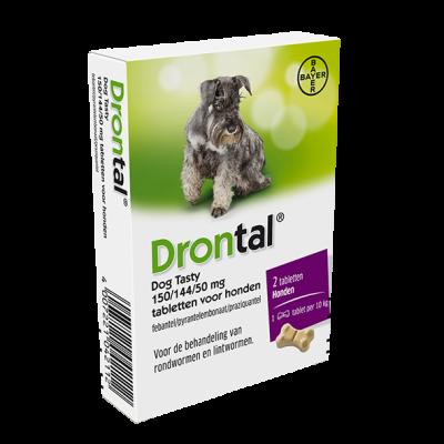 Bayer Drontal  Flavour - 2 tabletki dla psów